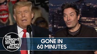 Trump Ditches Pence at 60 Minutes Interview | The Tonight Show