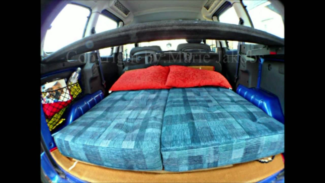 citroen berlingo als mini camper copyright by marie. Black Bedroom Furniture Sets. Home Design Ideas