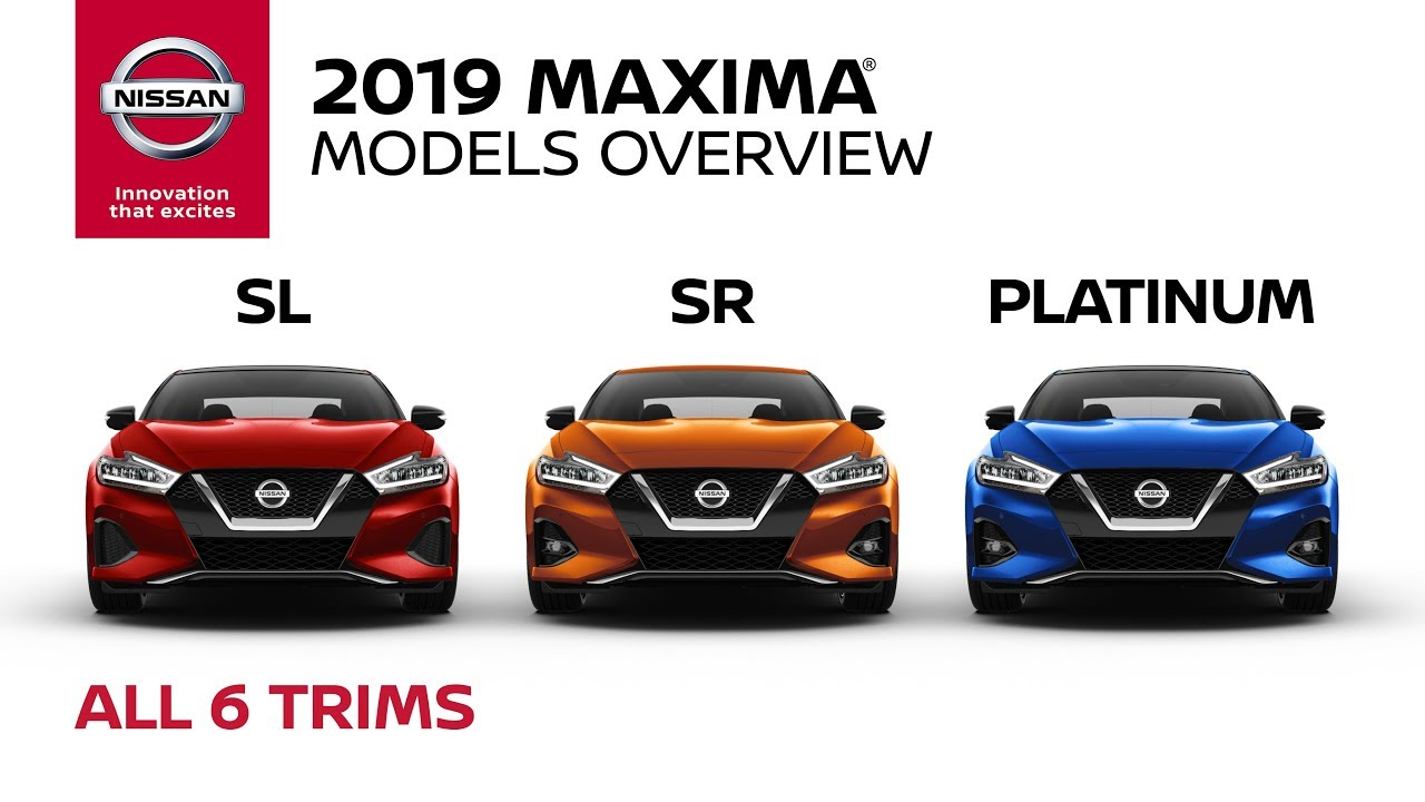 All 2019 Nissan Maxima Models Explained