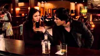 The Vampire Diaries - 4x02 - Elena feeds on Damon