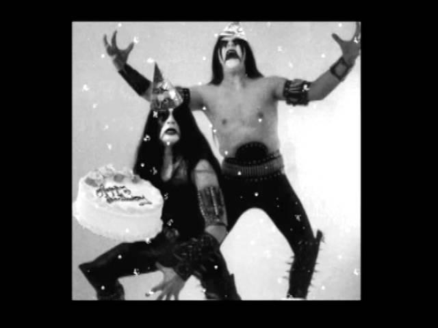 Happy Birthday Black Metal Style Youtube