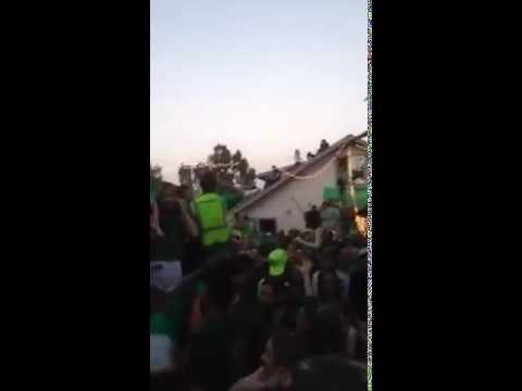 Por borrachos: estudiantes festejaban el día de San Patricio y el techo se desplomó