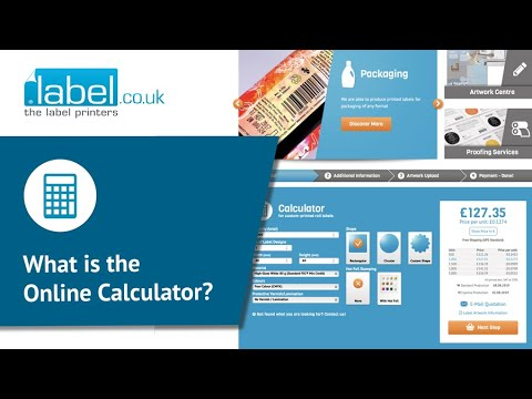 Online Calculator Tool | Printed Roll Labels | Get an