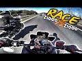 ??Autobahn ballern mit den Jungs?? | Kawasaki Z1000 | Webon_one & friends