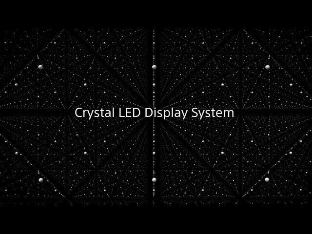 Crystal LED Display System