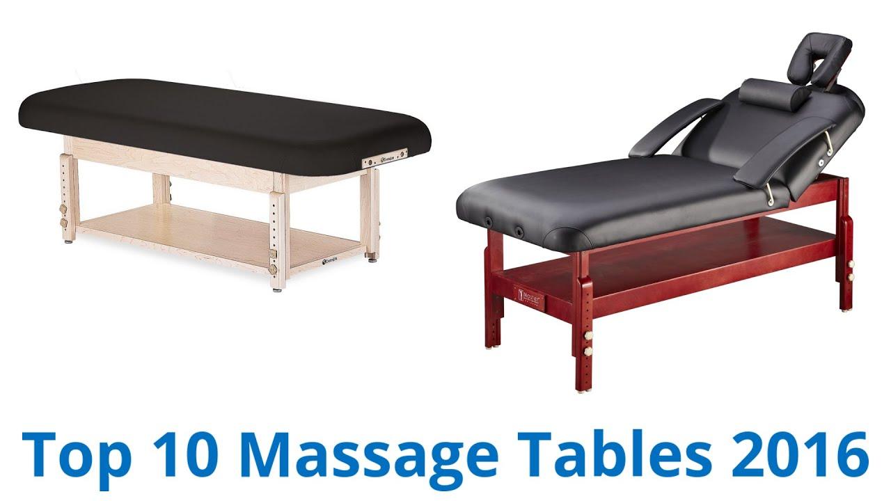 10 Best Massage Tables 2016