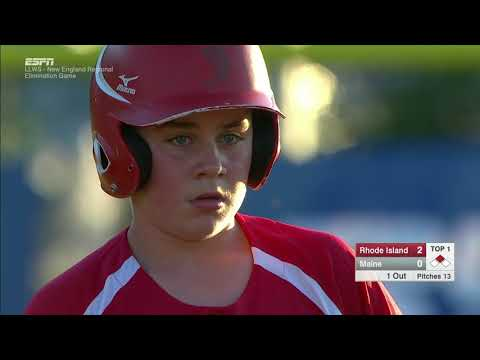 LLWS REGIONALS - Cumberland Rhode Island vs  South Portland Maine