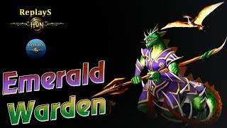 HoN replays - Father of low MMR - Emerald Warden - Immortal - ???????? AoE_lag Gold III