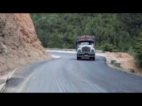 Trip to Bhutan: Road Journey from Thimpu to Punakha District, Bhutan