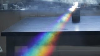 10 awesome demonstration experiments on light spectrum and color