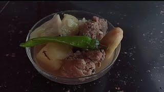 Nilagang Buto Buto ng Baboy ( Pork Bones Stew)  Pinoy Food Recipes