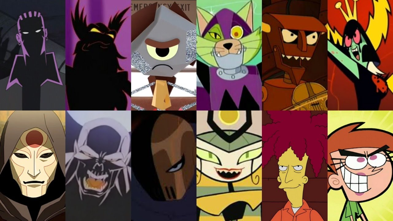 Defeats of my Favorite Cartoon Villains Part II