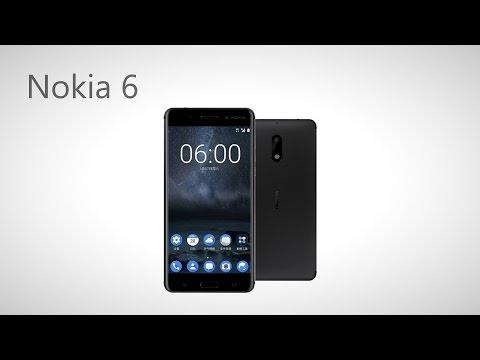 Nokia 6 Android 7.0 พรีวิว/Thai สมาร์ทโฟนแอนดรอยด์ใหม่ล่าสุดจากโนเกีย
