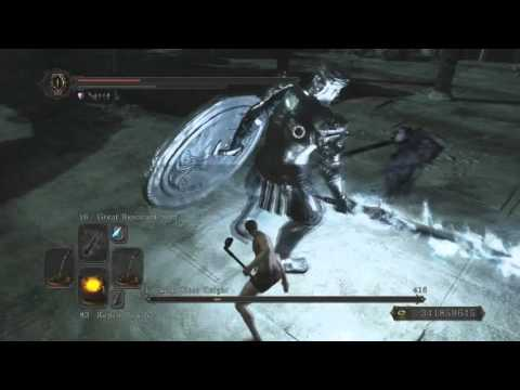 Dark souls ii mirror knight ladle only ng 7 no heal for Mirror knight