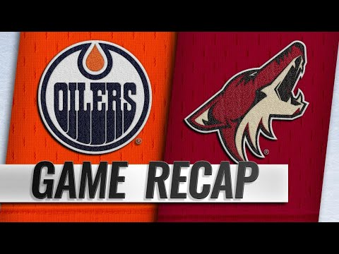 McDavid leads Oilers to 3-1 win vs. Coyotes