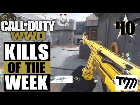 Call of Duty WW2 - Top 10 Kills of the Week #40 (COD Top Plays)