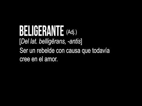 Lanzamiento del álbum Beligerante de Providencia - [Objetivo Fijo]