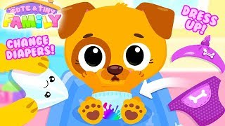 Fun Baby Care Kids Game - Cute & Tiny Family - Play Fun Baby Care, Holiday & Farm Fun Games