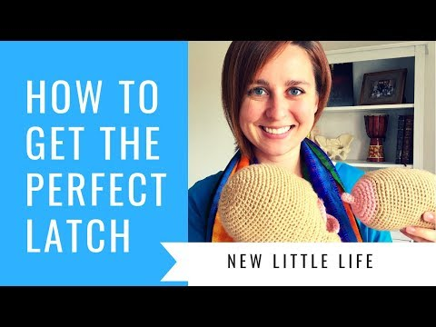 Latching Baby For Breastfeeding | Nose To Nipple Technique And Latching Basics