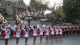 Disneyland: Spirit of Troy, the USC Trojan Marching Band Rose Bowl Pep Rally in Town Square (clips) thumbnail