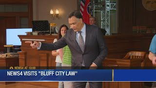 Behind the scenes of Memphis production 39Bluff City Law39