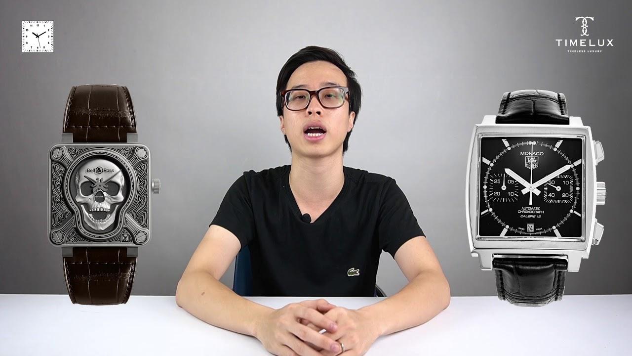 TRỞ THÀNH CHUYÊN GIA #3 : Hình dạng MẶT SỐ của đồng hồ ?