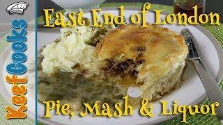 Pie and mash is London's original street food. The pies would usual...