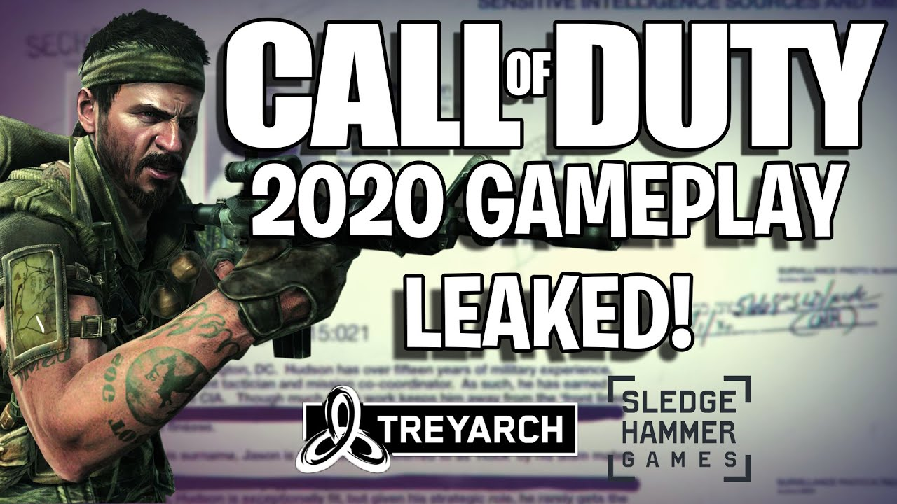 Call Of Duty 2020 Gameplay Leaked Explanation Possible Setting