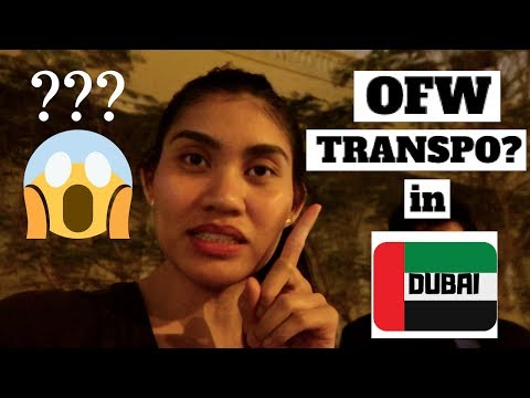 LIVING AND WORKING IN DUBAI 2019 | OFW LIFE PART 4 | TRANSPORTATION
