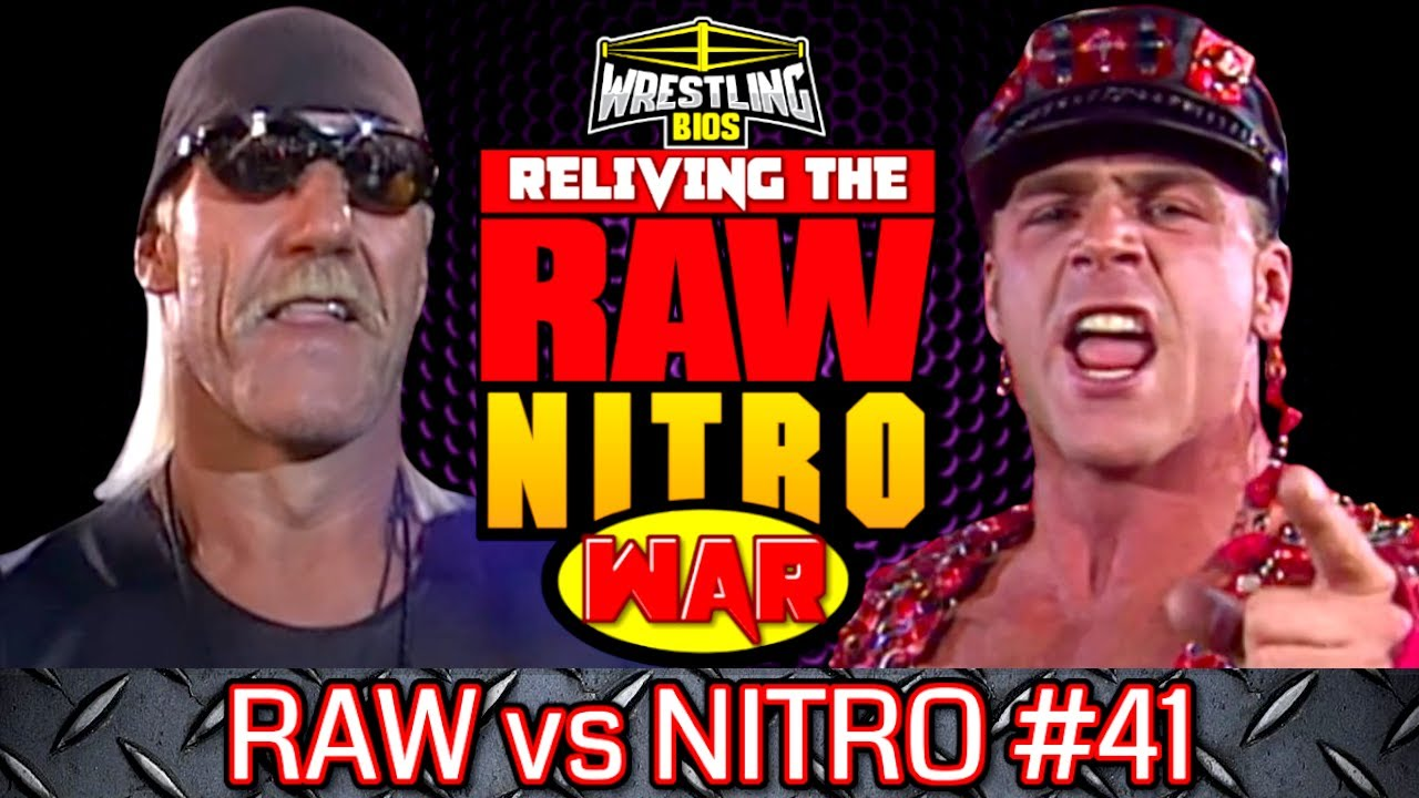 """Download Raw vs Nitro """"Reliving The War"""": Episode 41 - July 15th 1996"""