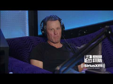Lance Armstrong Reflects on His Cancer Diagnosis with Howard Stern