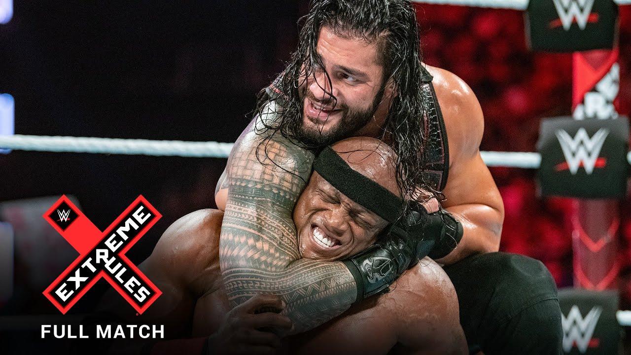 FULL MATCH - Bobby Lashley vs. Roman Reigns: Extreme Rules 2018