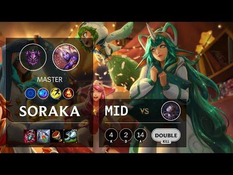 Soraka Mid vs Orianna - EUW Master Patch 10.21