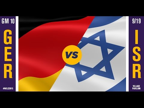 WILC 2015: Game 10 - Germany vs. Israel