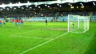 SFC Opava - Viktoria Plzeň Ondrášovka Cup penalta Knapp