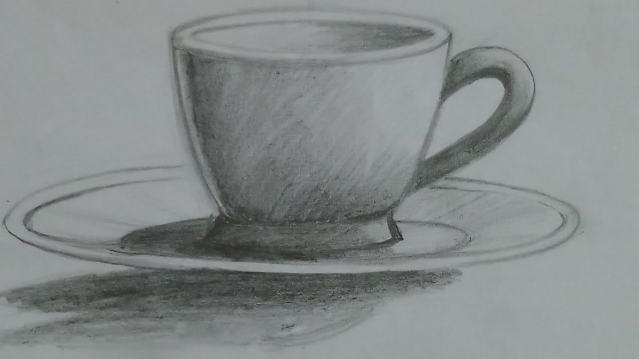 how to draw cup