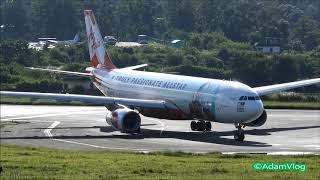 Buddha Air Rotate and Land and Airasia allstar Livery Take off from Tribhuvan International Airport