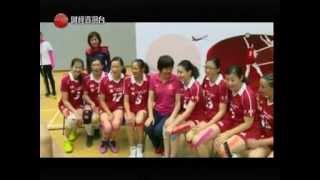 CableTV齊齊體育狂熱~國寶郎平教練到訪林大輝中學201