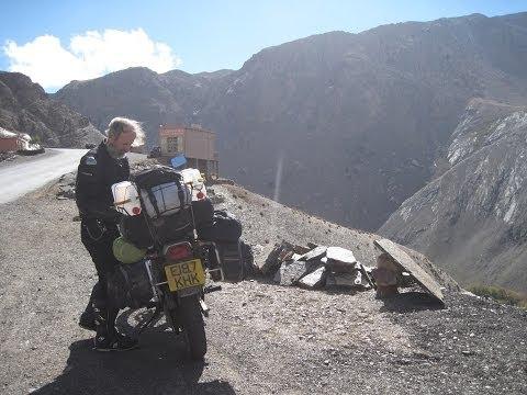 [Slow TV] Motorcycle Ride - Morocco - Marrakesh to Ouarzazate