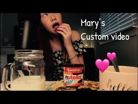 ASMR~ Maria (Mary) Avgi's Custom Video