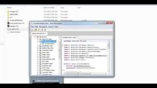Opening Open Source .apk file (Converting .dex file to .java file)