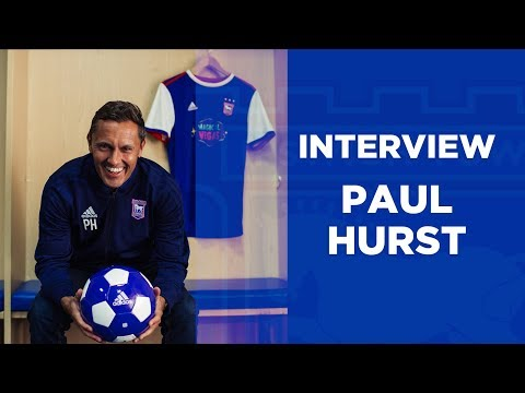 Paul Hurst's First Ipswich Town Interview