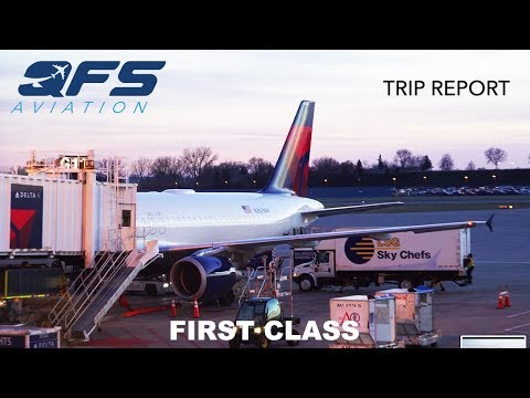 TRIP REPORT | Delta Airlines - A320 - Minneapolis (MSP) to Sacramento (SMF) | First Class