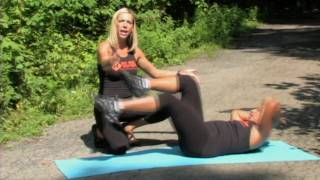 Six Pack Abs Fast - Bicycle Crunch Exercise Demo