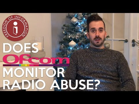 What Does OFCOM Do About Radio Abuse??