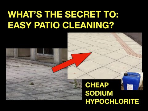 What's the Secret to Easy Patio Cleaning?