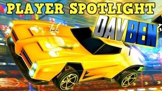 Rocket League BEST PLAYER SPOTLIGHT #1: DavBen - Pro Freestyle YouTuber