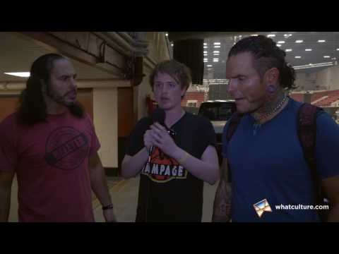 Jack Interviews The Broken Hardys Backstage At ROH Supercard Of Honor