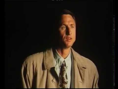 Johan Cruyff protagonizó en 1991 un espectacular anuncio contra el tabaco