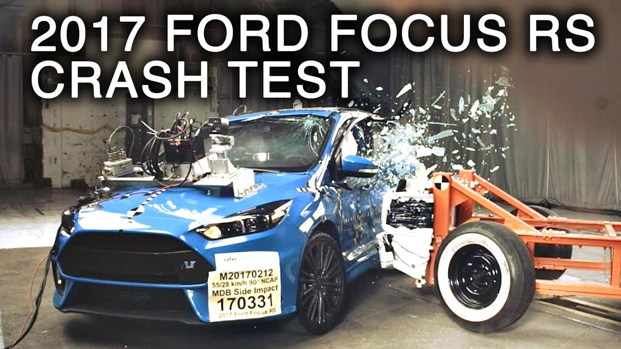 2017 ford focus rs side crash test youtube. Black Bedroom Furniture Sets. Home Design Ideas